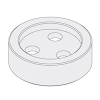 End Flange optional - 30mm